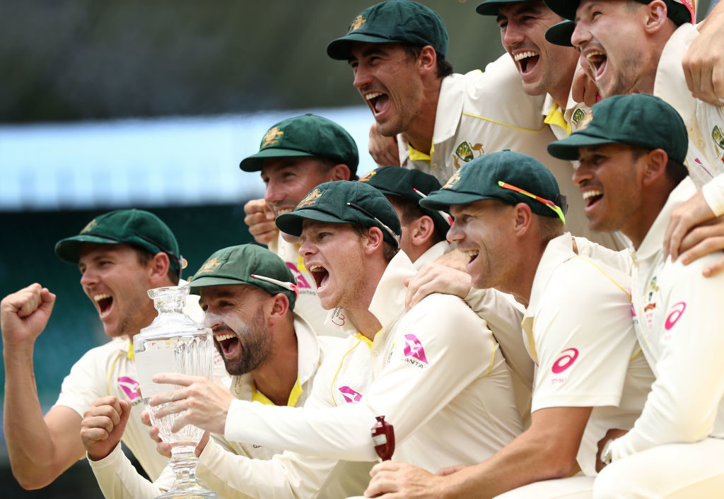 Australia steamroll England in the final Test to record a 4-0 Ashes win.