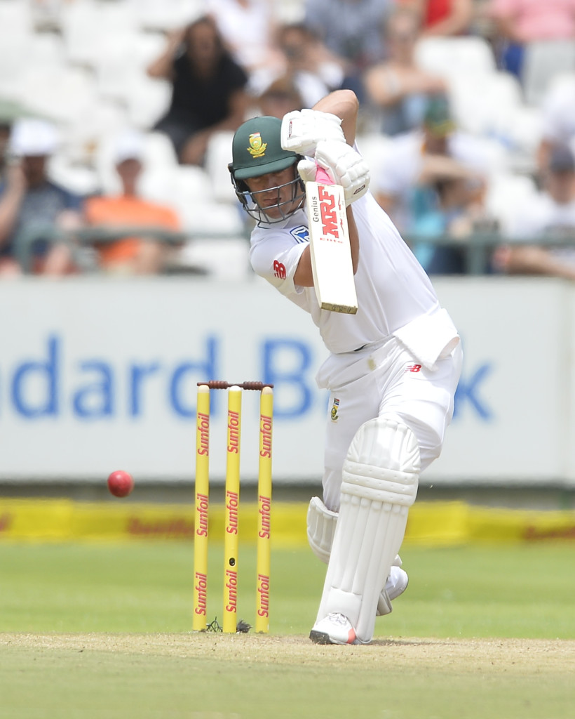 CAPE TOWN, SOUTH AFRICA - JANUARY 08: AB de Villiers of South Africa in action during day 4 of the 1st Sunfoil Test match between South Africa and India at PPC Newlands on January 08, 2018 in Cape Town, South Africa. (Photo by Ashley Vlotman/Gallo Images/Getty Images)