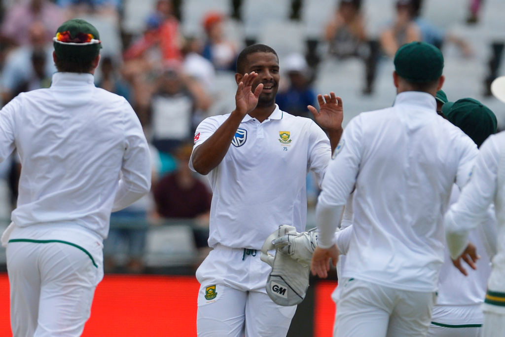Philander was literally unplayable on the Newlands pitch.