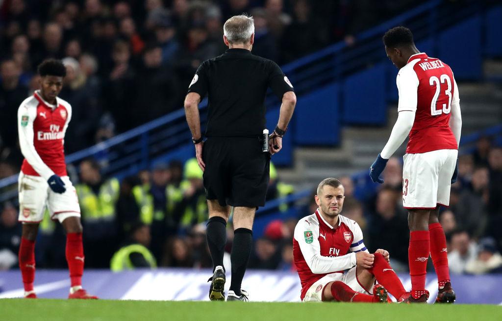Wilshere injured again