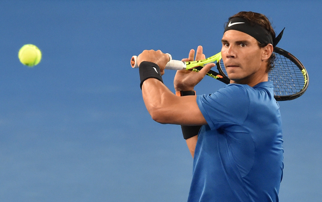 Nadal charges into second round at Australian Open
