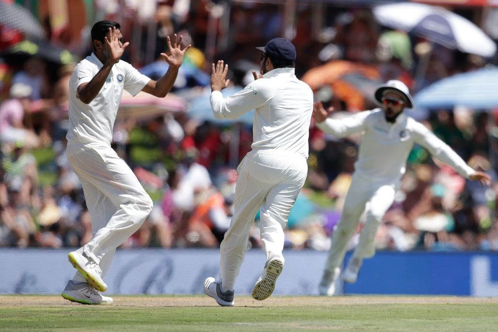 Ashwin's three wickets dragged India back into the match.