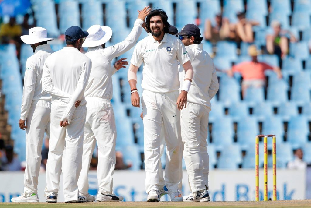 Ishant was the sole Indian pacer to shine on Saturday.