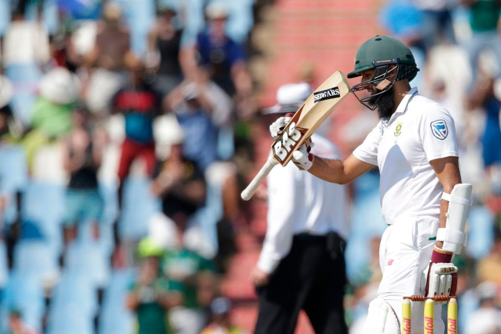 Amla's dismissal could be a vital turning point in the game.