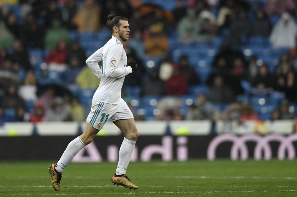 Brought off: Gareth Bale