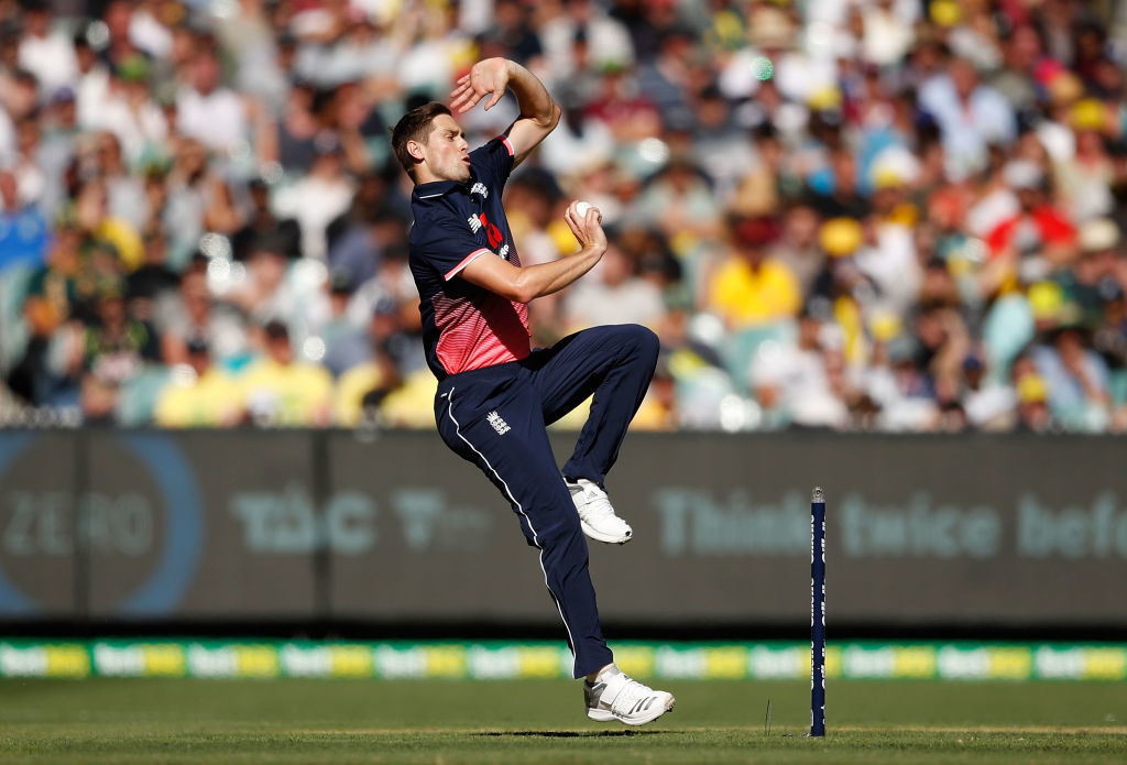 Woakes was unstoppable on the day.