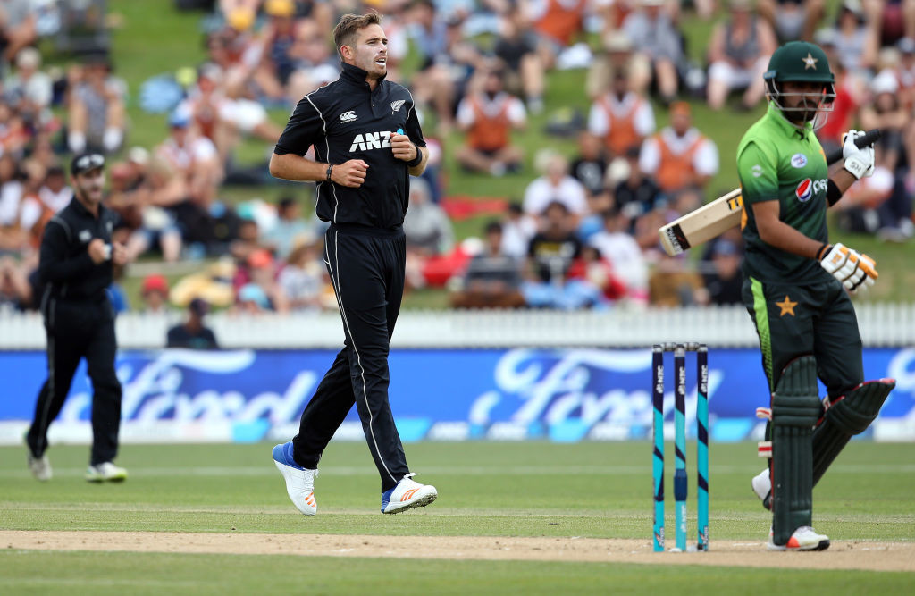 Tim Southee had earlier dismantled Pakistan's top order.