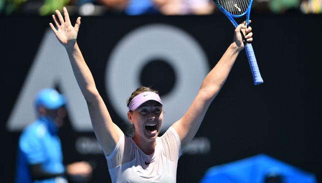 Australian Open results: Kerber routs Sharapova while Halep wins marathon
