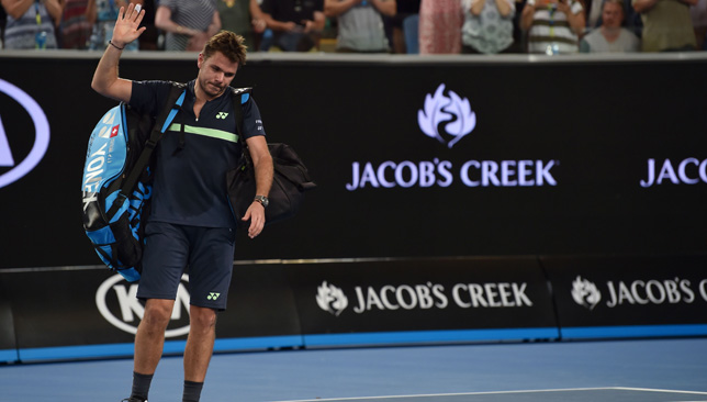 Tennys the winner as Wawrinka dumped out of Open