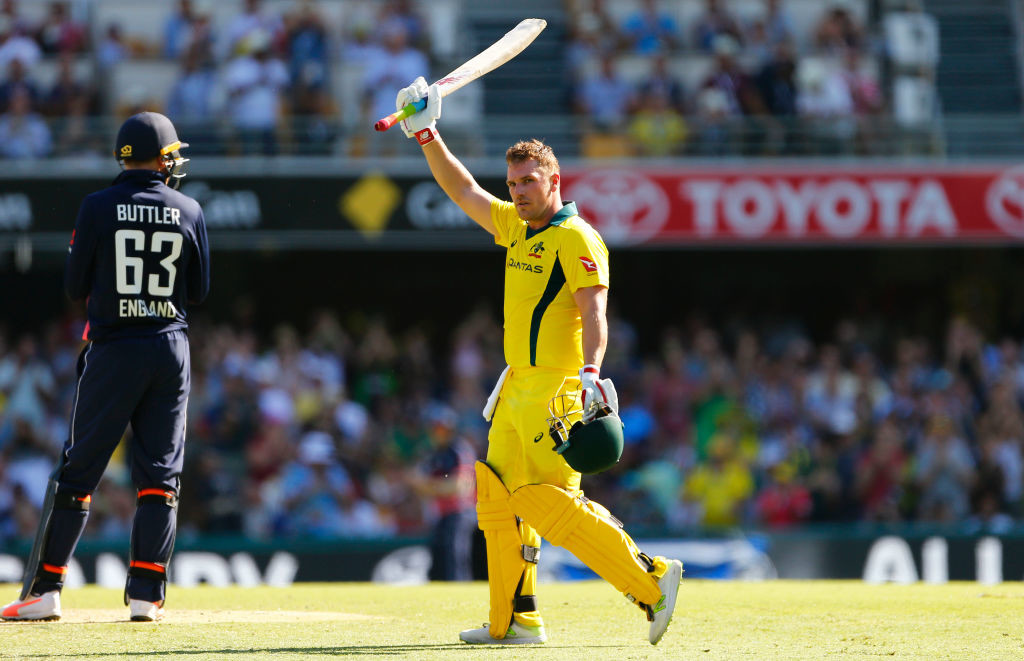 Finch's landmark ODI ton was one of the only positive for Australia.