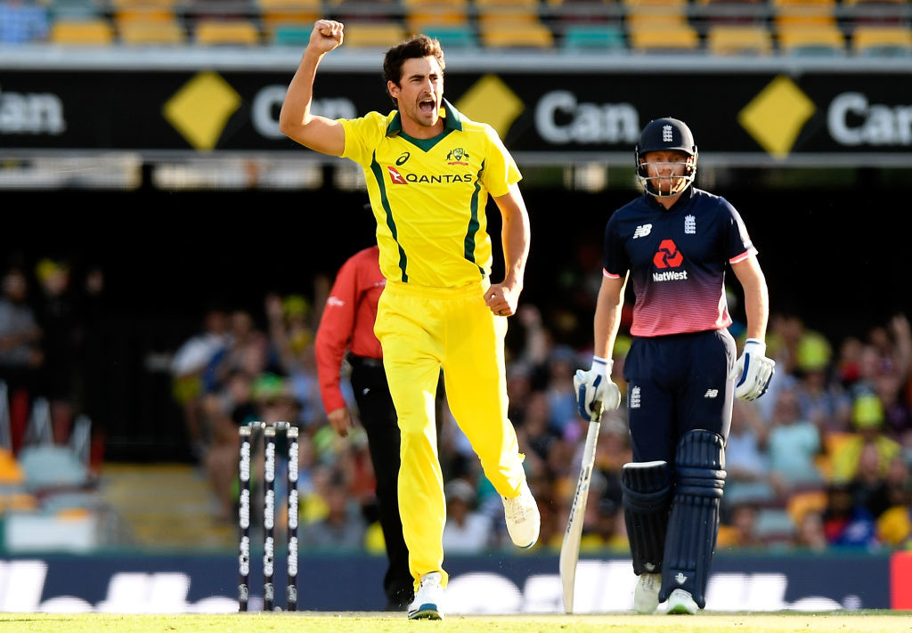 Starc's four wickets gave Australia a glimmer of hope.