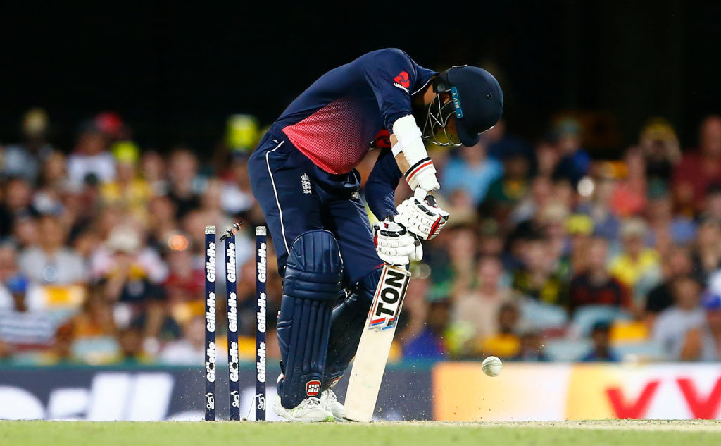 Moeen Ali's horrid tour with the bat continued.