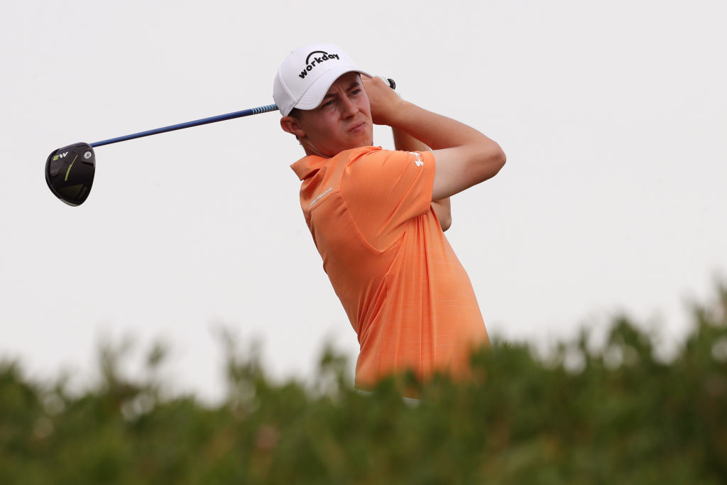 Matthew Fitzpatrick finished tied third with Rory McIlroy at Abu Dhabi.