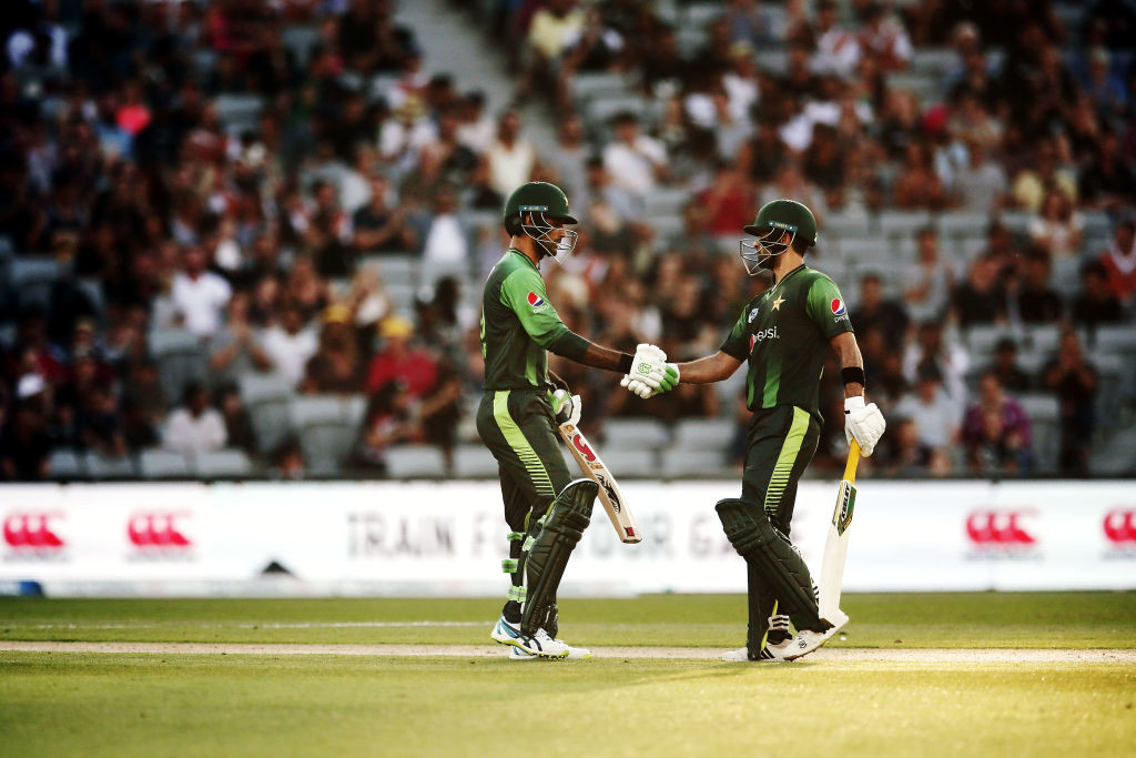 Fakhar and Shehzad gave Pakistan a rollicking start with the bat.
