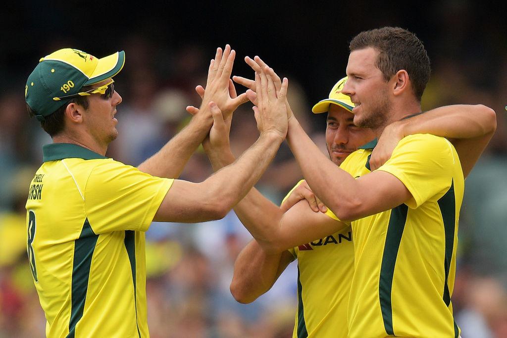 Hazlewood picked up three top order wickets