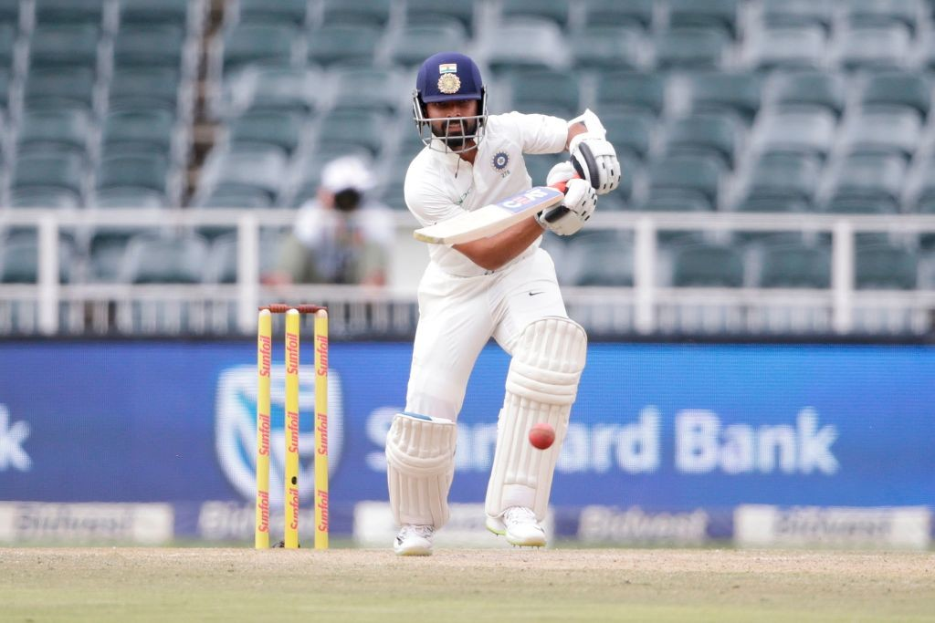 Rahane looked in complete control during his 48-run knock.