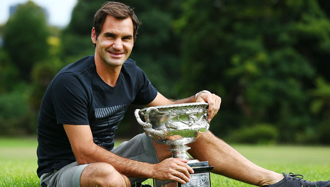 Roger Federer is the reigning Australian Open champion.