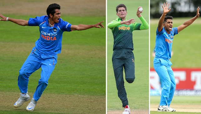 Fast bowlers from India and Pakistan making waves at the ICC Under