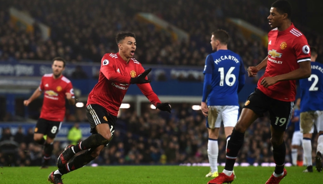 Mourinho hails Lingard after wonder goal fires United