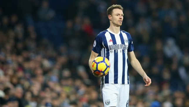 West Brom could lose Jonny Evans for £3m if relegated