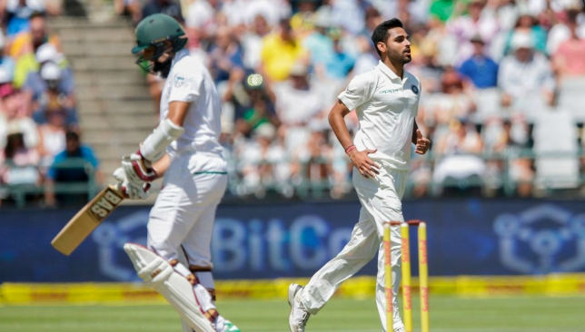 Bhuvneshwar destroyed South Africa's top-order at the start of play.