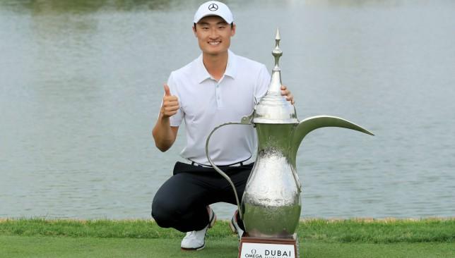 Li Haotong tops Rory McIlroy to win Dubai Desert Classic