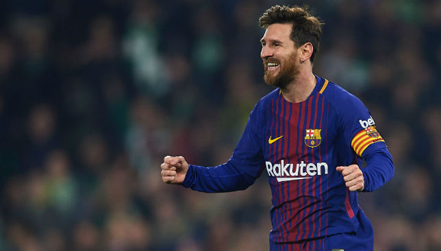 Lionel Messi was at his sublime best against Betis.