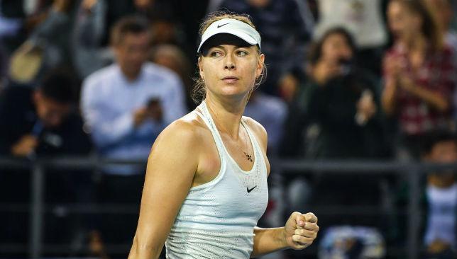 Maria Sharapova battles back to defeat Alison Riske and make Shenzhen Open quarter-finals ...