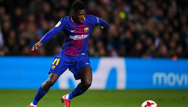 Dembele starred against Celta Vigo in the Copa del Rey win in mid-week.