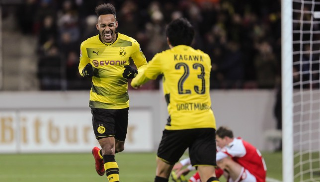 Pierre-Emerick Aubameyang left out by Borussia Dortmund