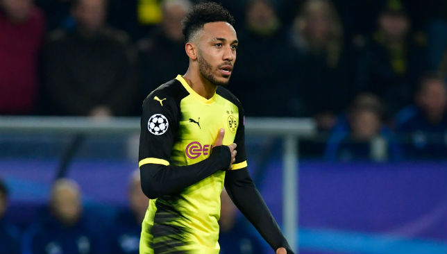 Pierre-Emerick Aubameyang left out of Dortmund squad amid Arsenal speculation