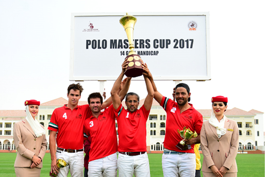 Polo Masters: Huge trophy