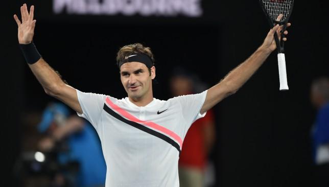 Will Ferrell interviews Roger Federer after Australian Open win