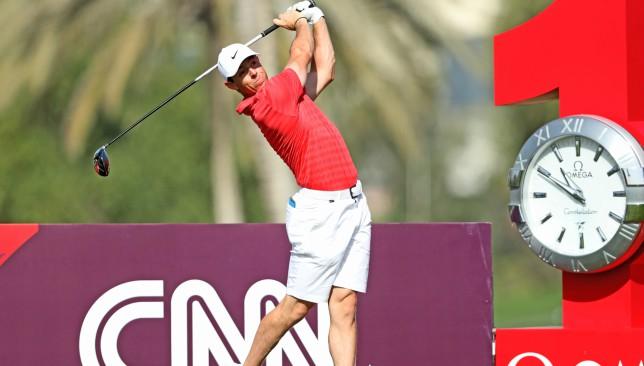 Rory McIlroy will be aiming for the title in Dubai.