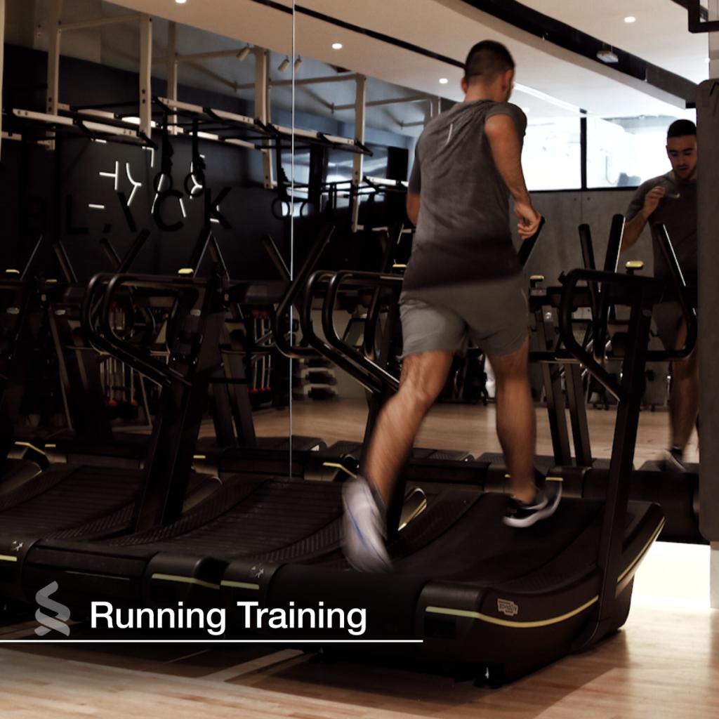 Cardio workout: On the treadmil