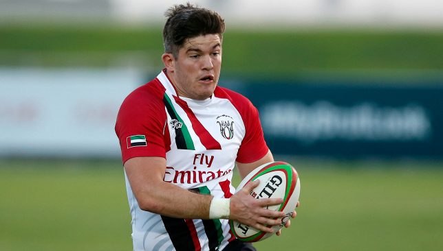 Dubai Eagles' Sean Carey