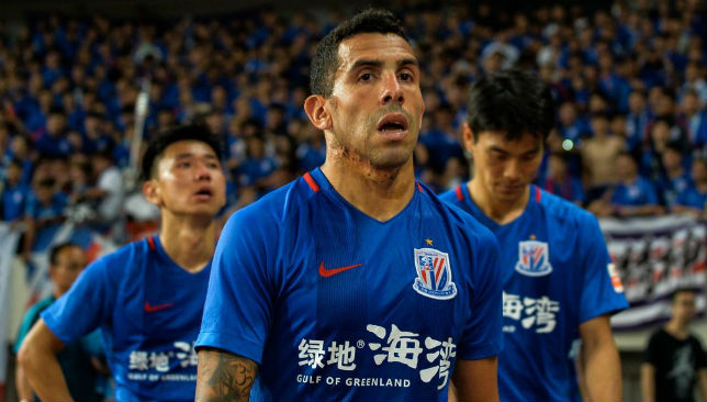 Carlos Tevez is one of a clutch of stars who has followed the money to the Far East.