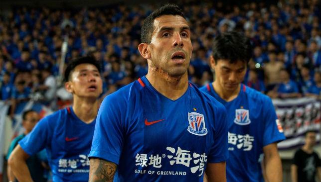 "Carlos Tevez's short China stint has earned him the nickname ""Very Homesick Boy""."