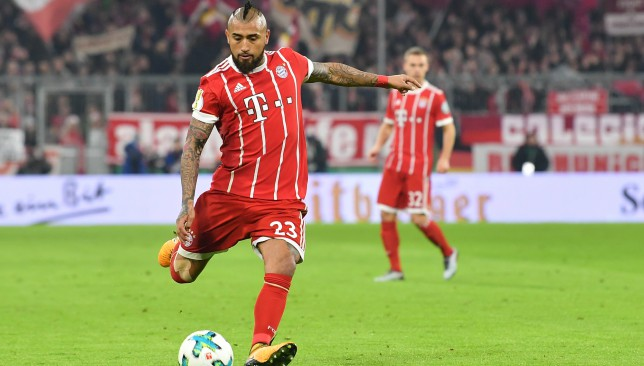 Vidal has been linked with a switch United