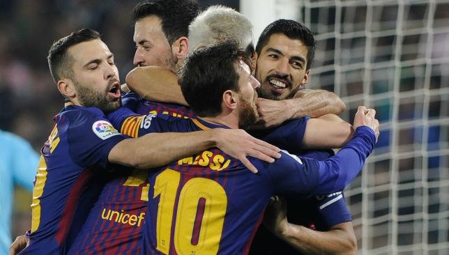 Image result for barcelona 5-0 sevilla