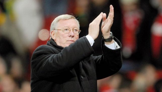 Former Man United boss Alex Ferguson.