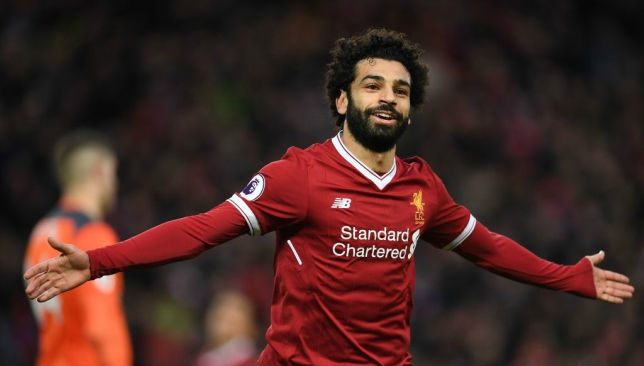 ede3bb21c20 Liverpool and Egypt striker Mohamed Salah named Arab Player of the Year