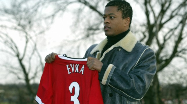 Evra signed for United in 2006.