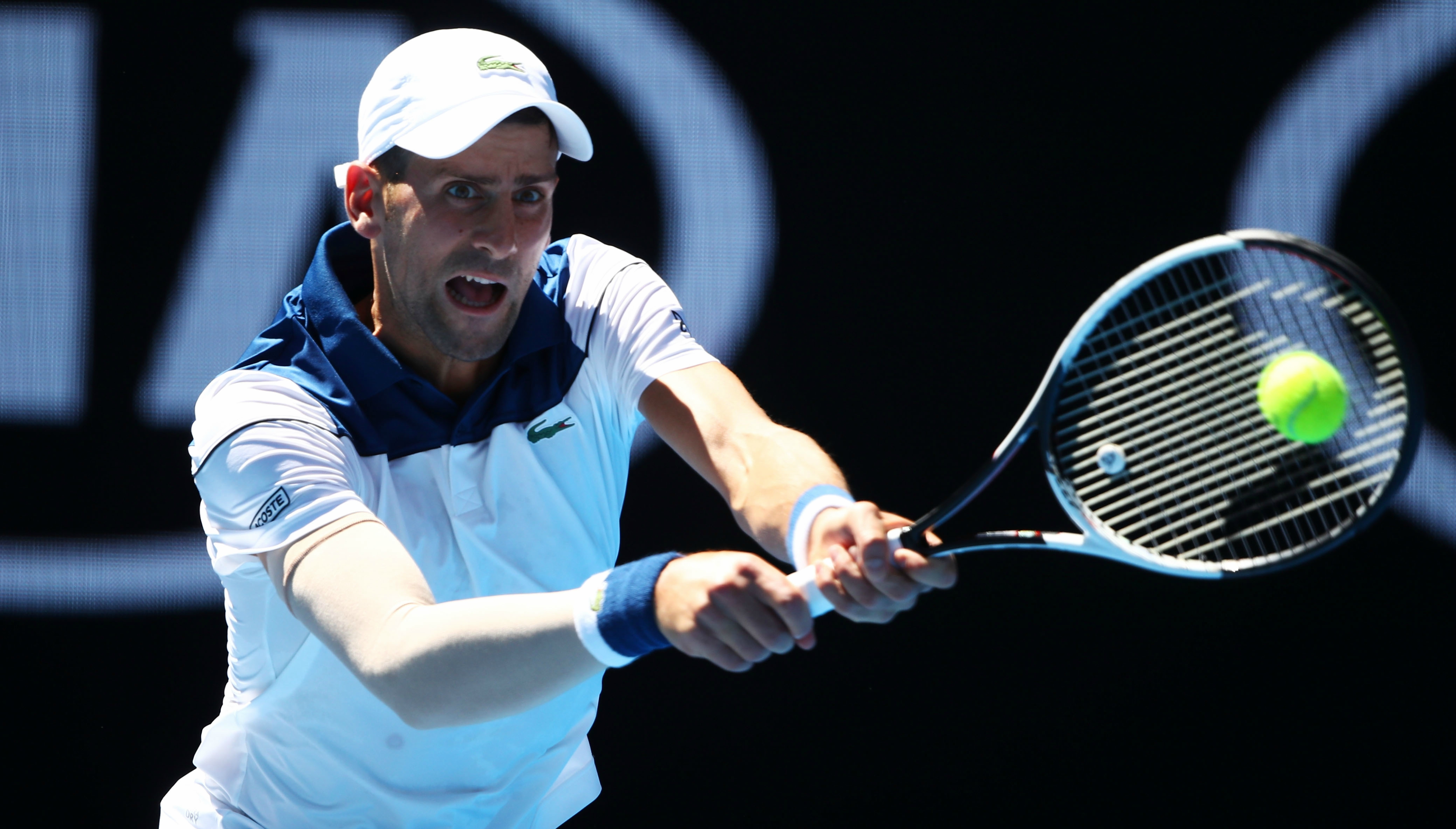 Will Ferrell Hilariously Interviews Roger Federer At Australian Open