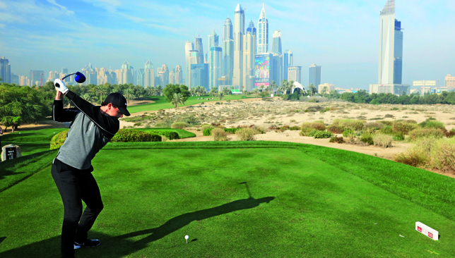 Dubai Desert Classic scores as Garcia and McIlroy tee off