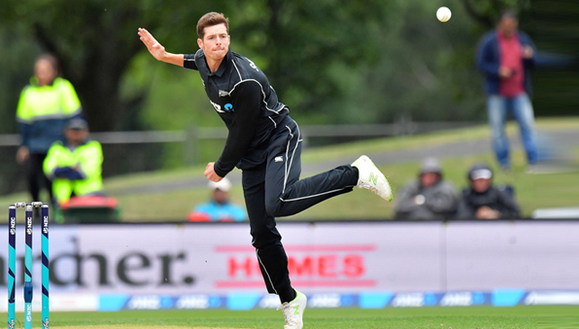 Mitchell Santner is turning to be key for New Zealand.