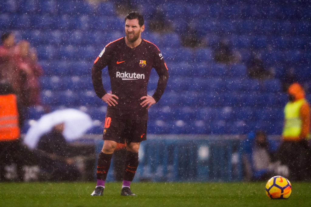 Messi provided the telling moment yet again, assisting Barca's leveller.