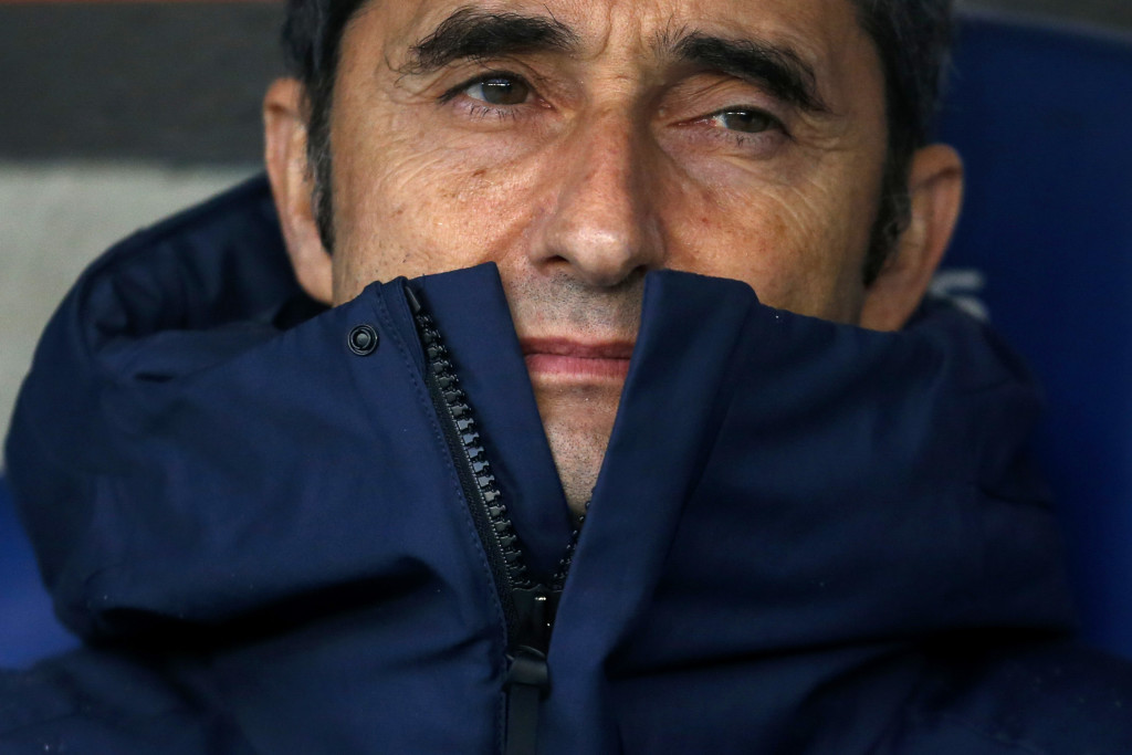 Valverde has surpassed expectations at Barcelona.