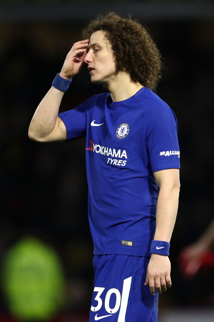 David Luiz's regression has arguably been the costliest.