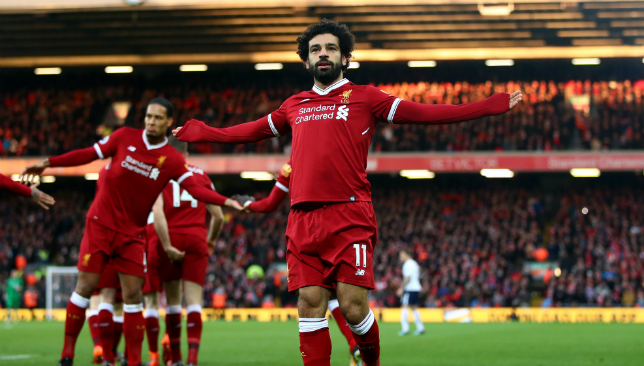 Mohamed Salah has been in stunning form